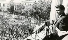 "21 august 1968, Bucuresti: atunci s-a nascut ""mitul"" Ceausescu"