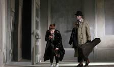 Ada Navrot și Francisco Alfonsin în spectacolul Noul locatar
