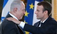 Benjamin Netanyahu si Emmanuel Macron cu ocazia unei precedente întîlniri