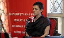 Diana Roșu, senior manager, PwC România, în studioul RFI Romania