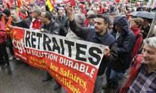 Franţa, manifestaţie în septembrie 2019 împotriva reformei sistemului de pensii.