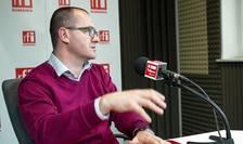 Deputatul UDMR Attila Korodi in studioul RFI Romania