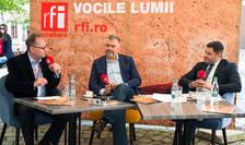 Constantin Rudniţchi, Voicu Oprean și Mihai Pop la Cluj-Napoca