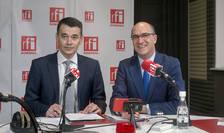 Ciprian LĂDUNCĂ şi Sergiu COSTACHE la radio