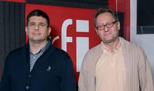 Dan Răzvan Benția și Constantin Rudnițchi la RFI