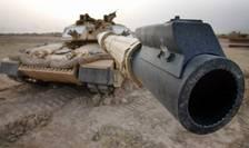 M1 Abrams este un tanc principal de luptă din generația a treia, fabricat în Statele Unite ale Americii
