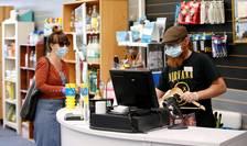Acoperirea feței în magazine