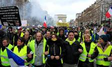 Actul 13 al Vestelor galbene, Champs Elysées, sâmbata 9 februarie 2019.