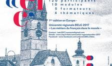 Afiș Universitatea regională BELC 2017 în premieră în România