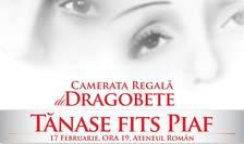 Afiș Camerata Regală și Tănase Fits Piaf, București 2018