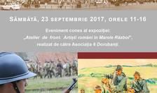 Afiș De Straja la Palatul Regal. Reconstituire istorico-militara - 100 de ani de la Marele Razboi