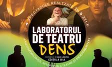 Afiș Laboratorul de Teatru DENS