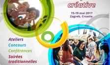 Afiș Festivalul studenților francofoni din Europa Centrală și Orientală