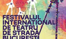 Afiș Festivalul Internațional de Teatru de stradă B-FIT in the street, 2017