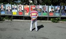Afisele candidatilor la alegerile prezidentiale franceze