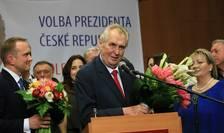 Milos Zeman obţine un nou mandat de preşedinte în Cehia (Foto: AFP/Radek Mica)