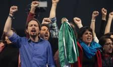 Liderul Podemos, Pablo Iglesias (Foto: AFP/Gogo Lobato)