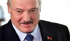 Aleksandr Lukasenko în timpul alegerilor prezidentiale din august 2020.