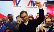 Aleksandar Vucici a câştigat alegerile prezidenţiale din Serbia (Foto: Reuters/Antonio Bronic)