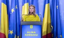 Alina Gorghiu critică moțiunea de cenzură a USR PLUS și AUR (Sursa foto: Facebook/Alina Gorghiu)