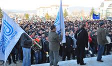 Protest la Dacia (imagine de arhivă)