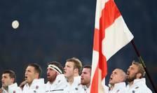 Echipa de rugby a Angliei intonează imnul