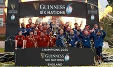 Anglia - câștigătoarea Turneului celor Șase Națiuni 2020
