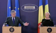 Antonio Tajani s-a întâlnit miercuri cu Viorica Dăncilă (Sursa foto: gov.ro)