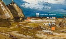 ARTmobile - un muzeu la îndemână, Maurice de Vlaminck, Peisaj cu căpițe, detaliu