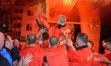 Sărbătoare la Giurgiu, după câştigarea campionatului (Foto: site oficial Astra)