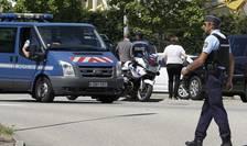 Forţe de securitate, la Saint-Quentin-Fallavier en Isère (Foto: Reuters/Emmanuel Foudrot)