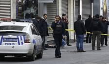 Deflagraţia a avut loc pe o stradă pietonală aglomerată din centrul Istanbulului
