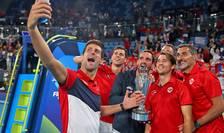 Serbia câștigă ATP CUP