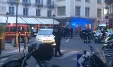 Un atac cu cutitul a fost comis astàzi searà în plin centru al Parisului, în cartierul Operei. Bilantul provizoriu este de doi morti