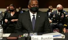 Secretarul de stat american al Apàràrii, Llyod Austin, audiat de senatorii americani, 28 septembrie 2021.