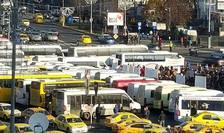 Protestele Federatiei de transport FORT au afectat jumatate de tara