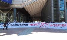 Apel al activiștilor pentru autostradă către președintele României și Guvern.