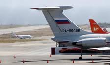 Un avion rusesc pe aeroportul din Caracas, 24 martie 2019