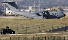 Avion de transport militar A400M turcesc pe baza de la Incirlik