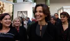 Audrey Azoulay (în centru) este noua patroanà Unesco