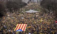 Cel mai mare mars catalan în afara Spaniei