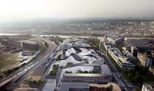 "Noul sediu al Ministerului francez al Apàràrii, ""Hexagonul Balard"""