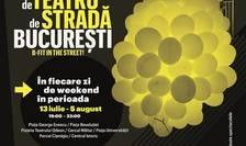 Afiș Festivalul Internațional de Teatru de Stradă București - B-FIT in the Street, 2018