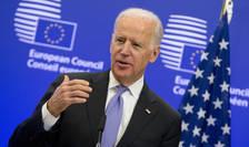 Joe Biden la Bruxelles, 6 februarie 2015.