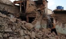 Clădiri dărâmate, după seismul din Pakistan (Foto: Reuters/Hazrat Ali Bacha)