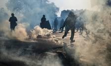 O victorie a lui Marine Le Pen ar fi provocat violente cu Black Blocs (aici la Paris, pe întât mai 2016)