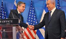 Întrevedere și conferinţă de presă comună Antony Blinken - Benjamin Netaniahu, Ierusalim, 25 mai 2021.