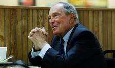 Miliardarul american Michael Bloomberg, în campanie în Arkansas, 12 noiembrie 2019