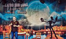 Bogdan Gagu pe scena festivalului Teatru sub Luna