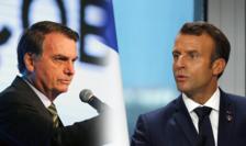 Presedintii Jair Bolsonaro si Emmanuel Macron se confruntaserà la summitul G7 de la Biarritz, de anul trecut, în jurul chestiunii incendiilor din Amazonia